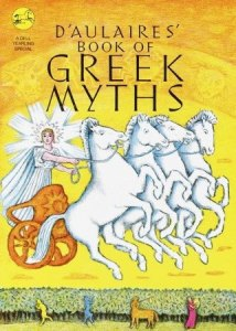 Book of Greek Myths cover