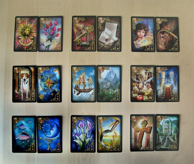 Deck: Gilded Reverie Lenormand by Ciro Marchetti