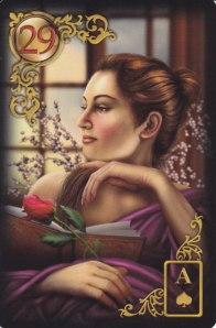 29-Woman Lenormand card