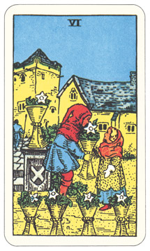 Waite-Smith Six of Cups